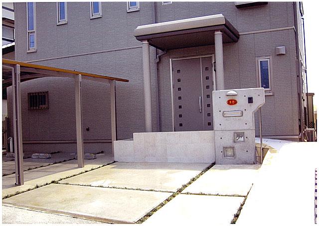 玄関アプローチ・スロープ